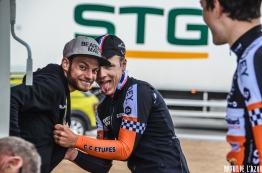 Romain Seigle et Pierre Idjouadiene, la bonne humeur règne au CC Etupes !